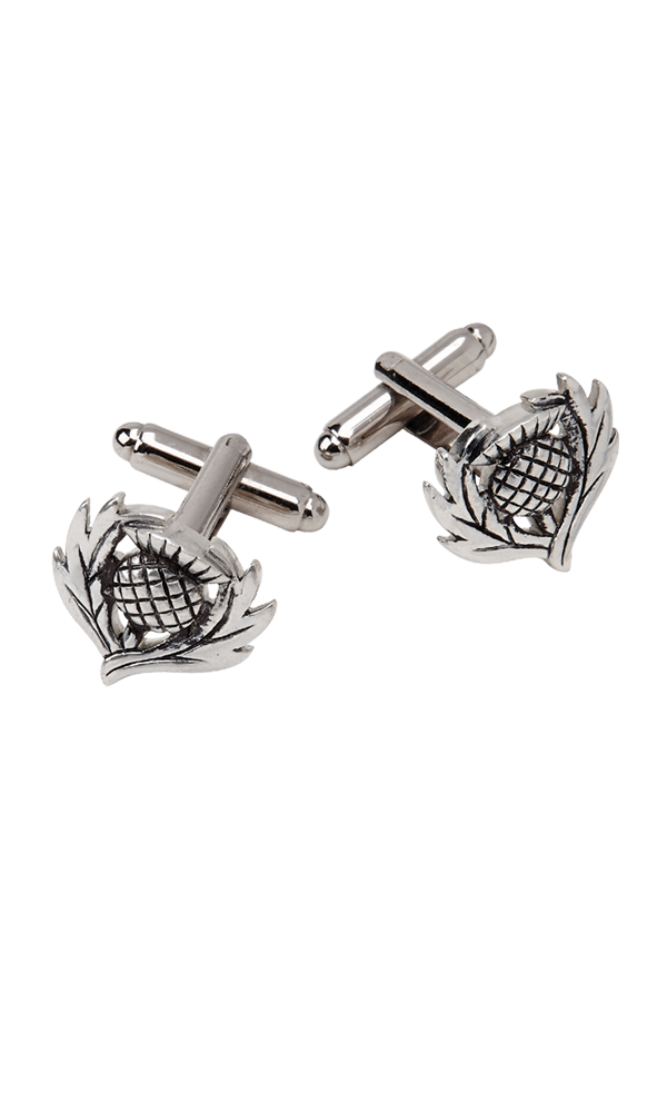 Traditional Thistle Cufflinks