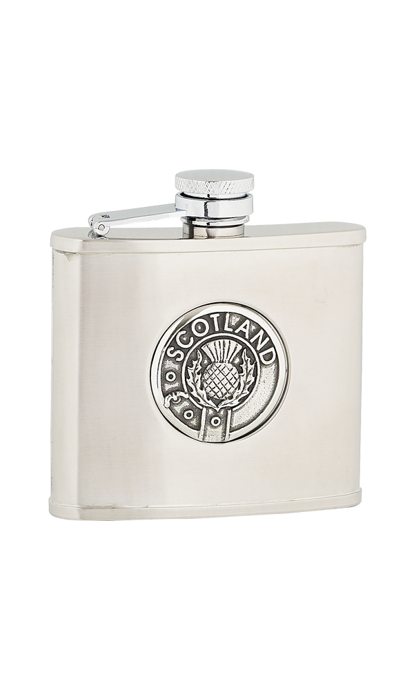 4oz Scotland Stainless Steel Flask