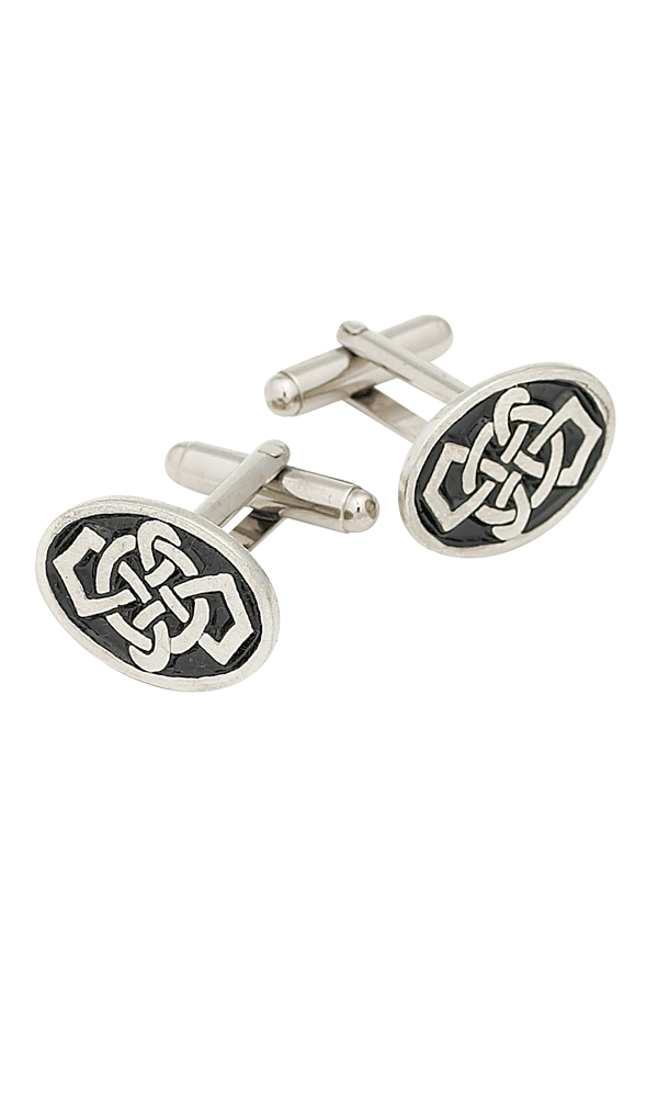 Oval Celtic Cufflinks Thumbnail