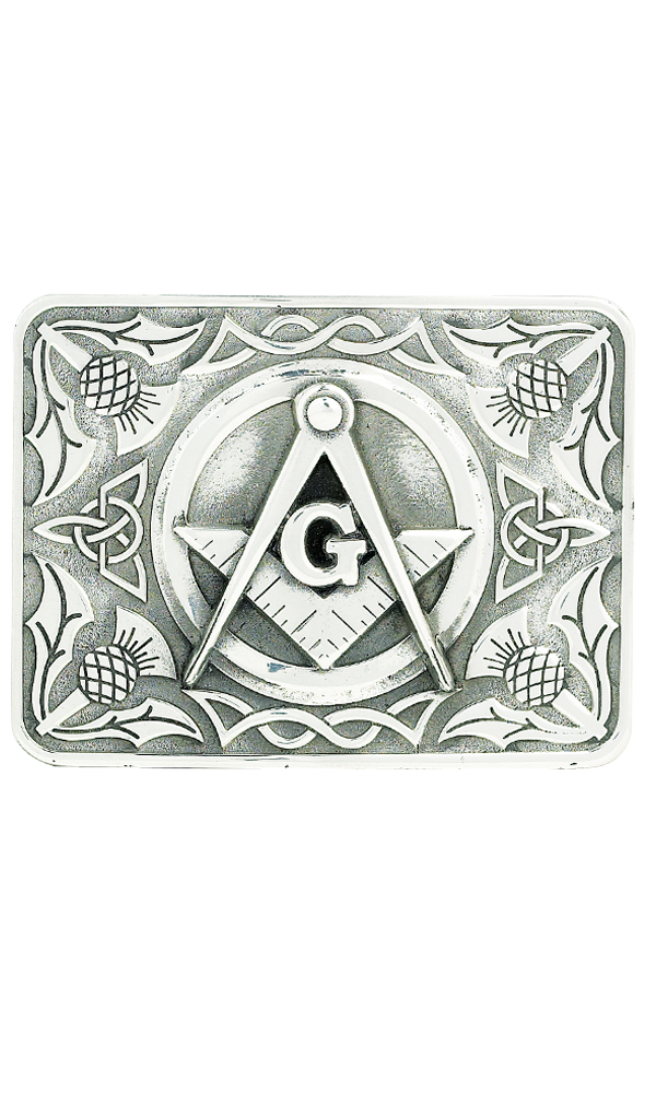 Masonic Belt Buckle Thumbnail
