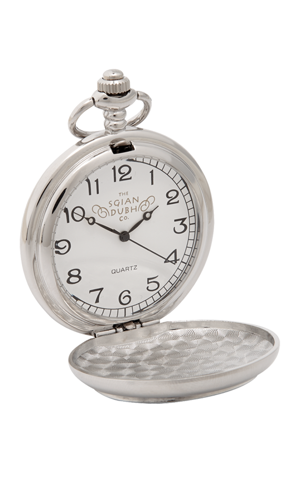 Shamrock Quartz Pocket Watch Thumbnail