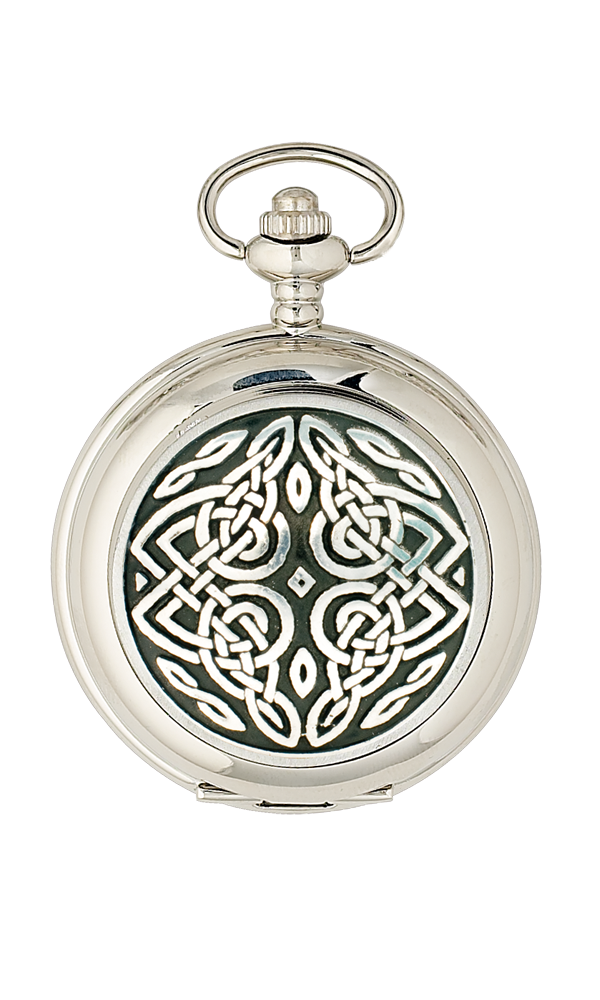 Celtic Quartz Pocket Watch Thumbnail