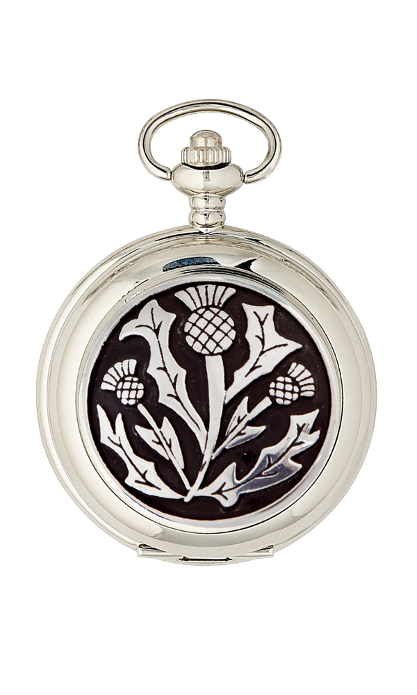 Three Thistle Quartz Pocket Watch Thumbnail