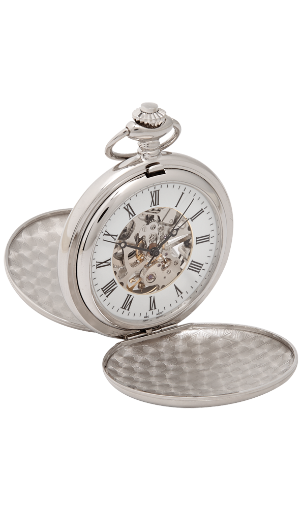 Hampton Mechanical Pocket Watch Thumbnail