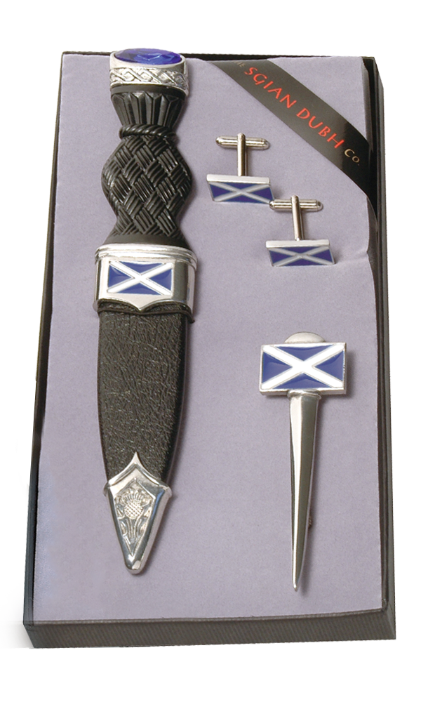Saltire 3 Piece Gift Set With Stone Top Thumbnail