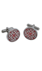 Celtic Enamel Cufflinks Thumbnail