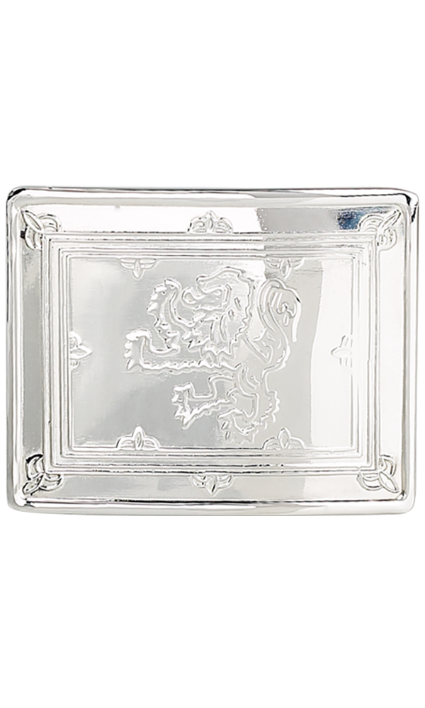 Lion Rampant Belt Buckle