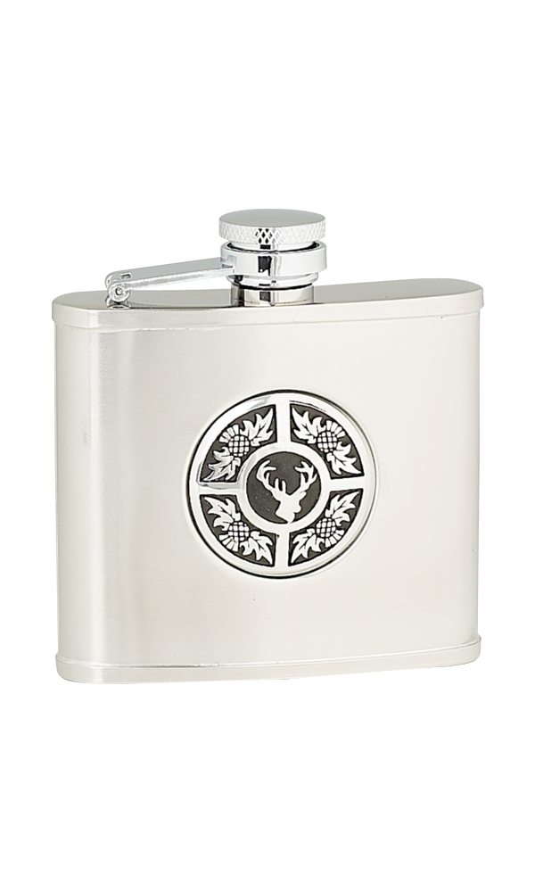 4oz Thistle & Stag Stainless Steel Flask