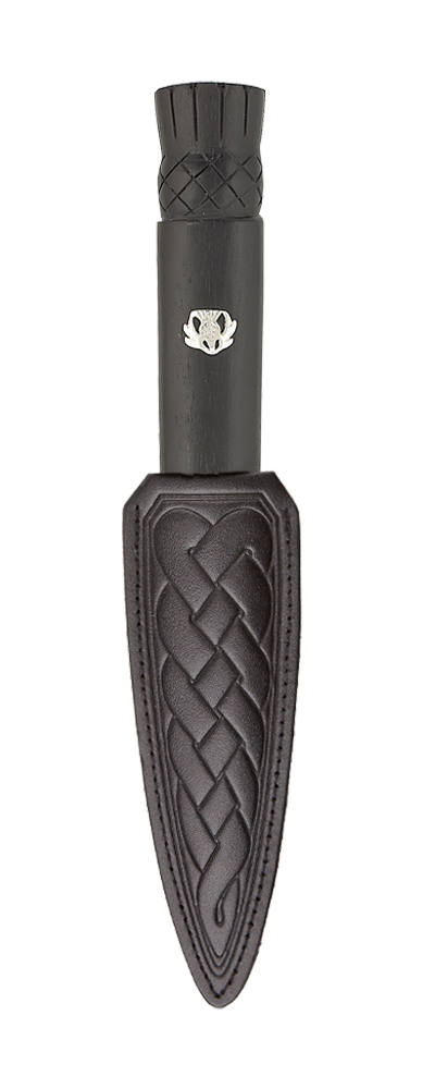 Scottish Blackwood Thistle Daywear Sgian Dubh