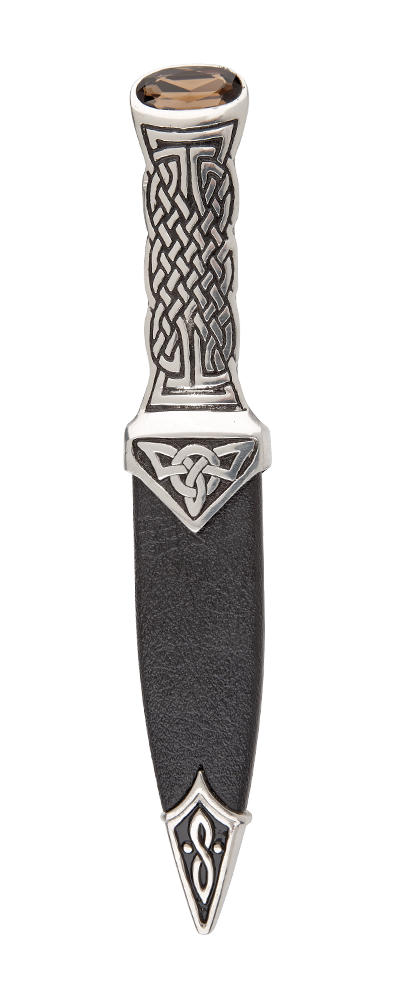 Boisdale Pewter Sgian Dubh With Stone Top