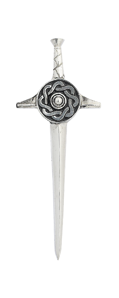 Celtic Sword Kilt Pin