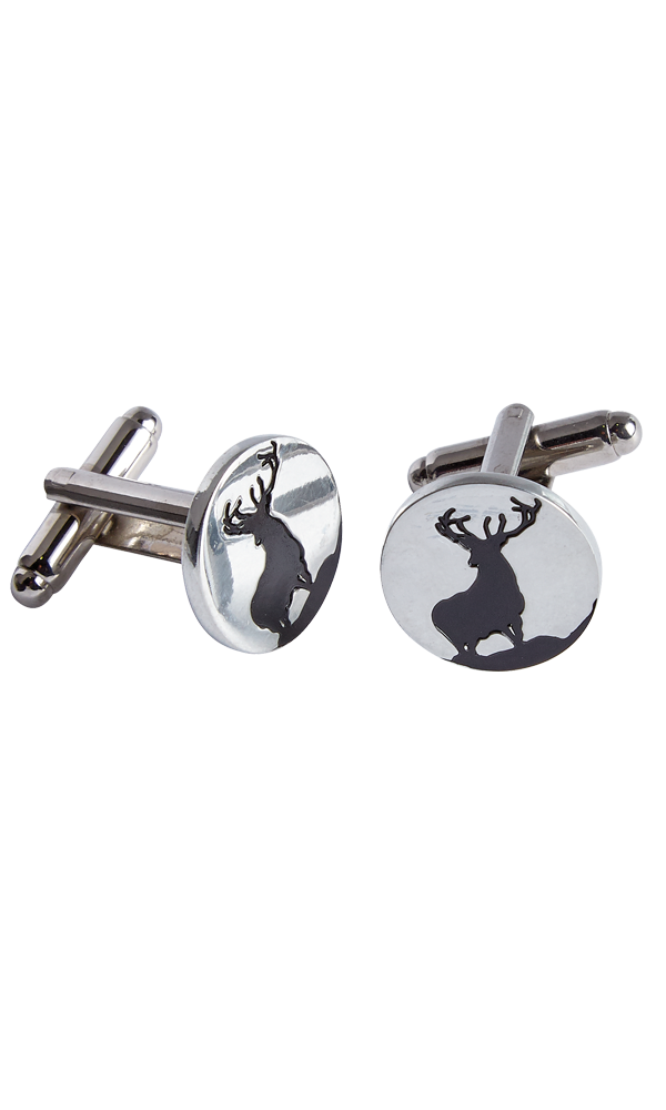 Monarch Stag Cufflinks