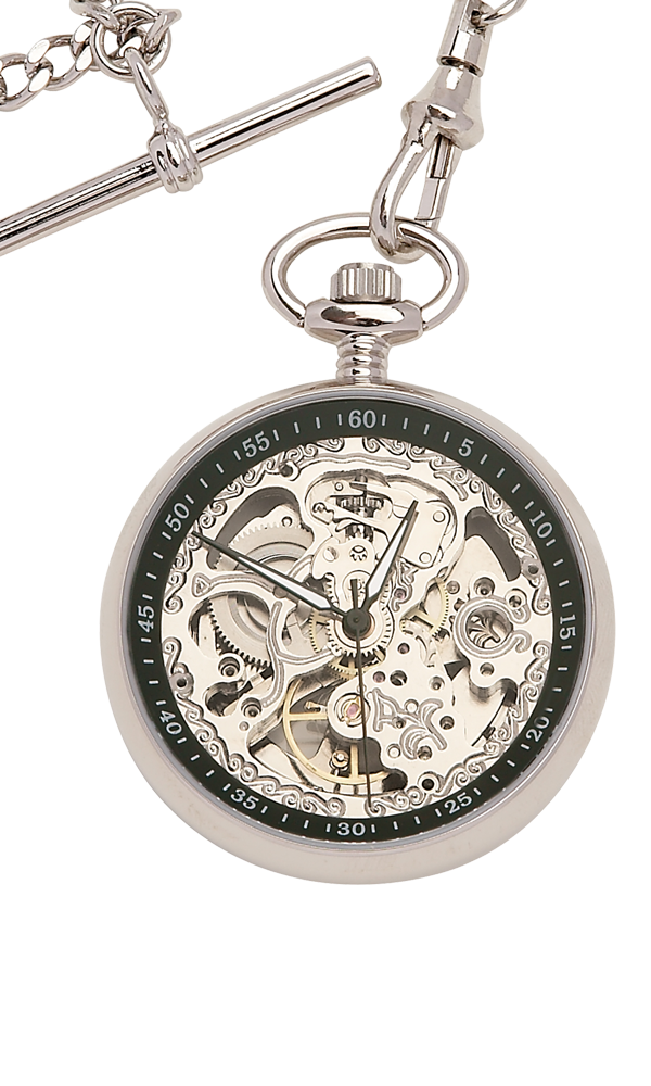Alnwick Mechanical Pocket Watch