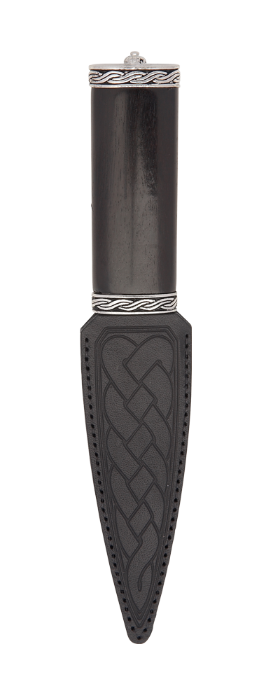 Torridon Blackwood Sgian Dubh With Plain Top