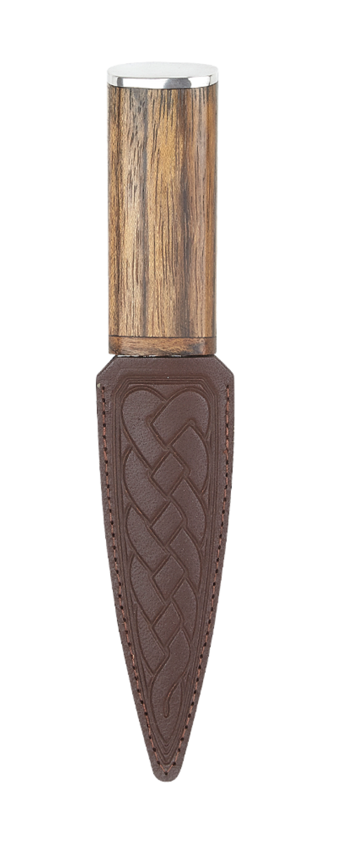 Amazaque Arisaig Sgian Dubh - Pewter Top