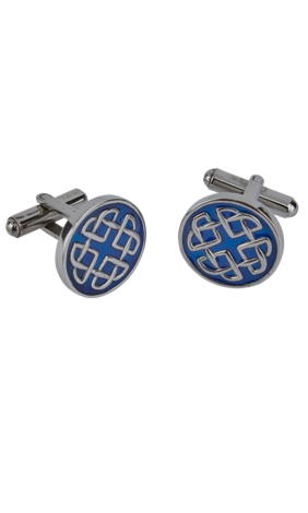 Celtic Enamel Cufflinks