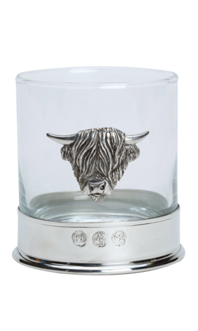 Highland Cow Whisky Glasses