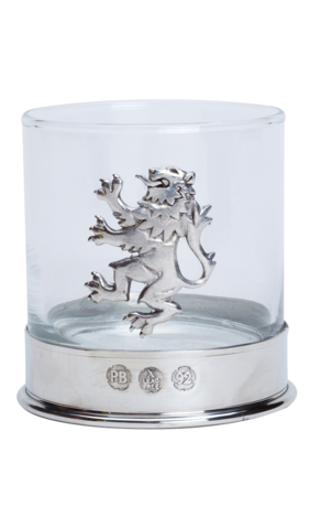 Lion Rampant Whisky Glass