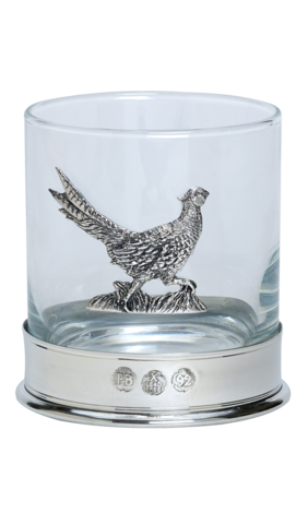 Pheasant Whisky Glass